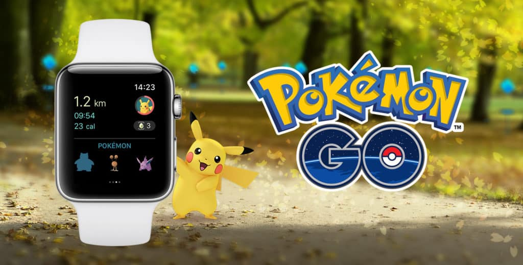 Pokemon Go App for Apple Watch