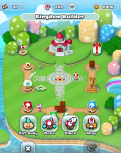 Super Mario Run Mush Room Kingdom
