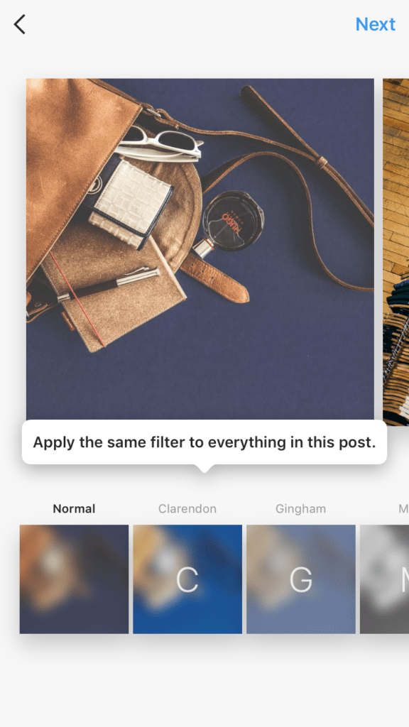 Instagram Album Collage Feature Filter