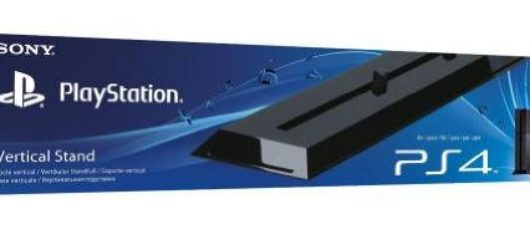 ps4 vertical stand black