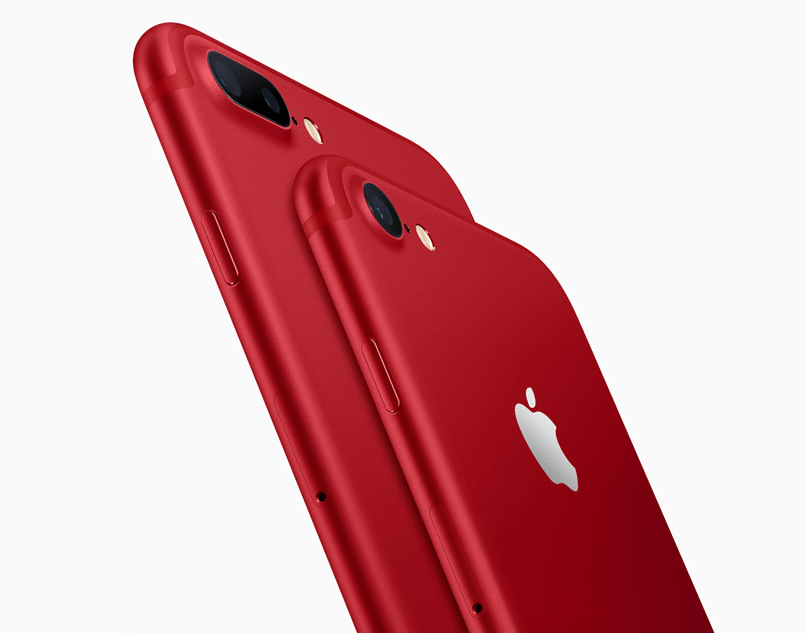 new iphone 7 red color apple