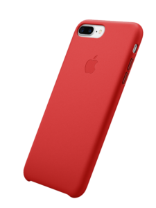 iphone red leather case