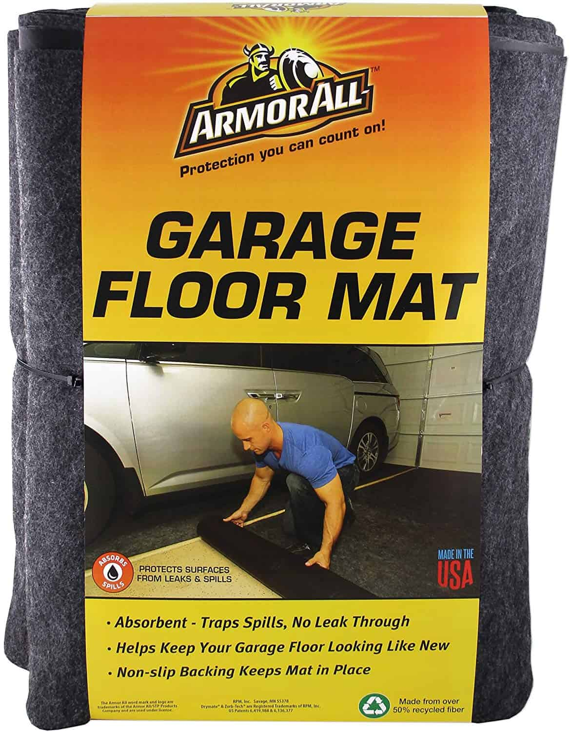 Armor All AAGFMC20 Charcoal Garage Floor Mat review