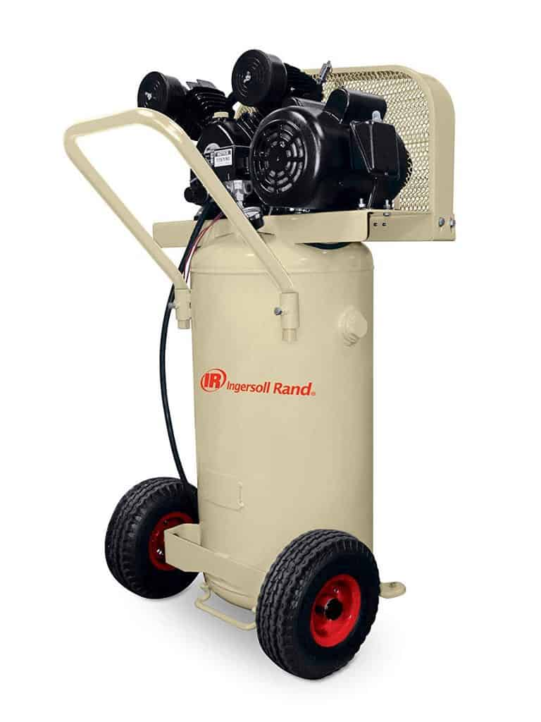 Garage Mate P1.5IU-A9 2 HP 20 Gallon Single Stage Portable best garage air compressor review