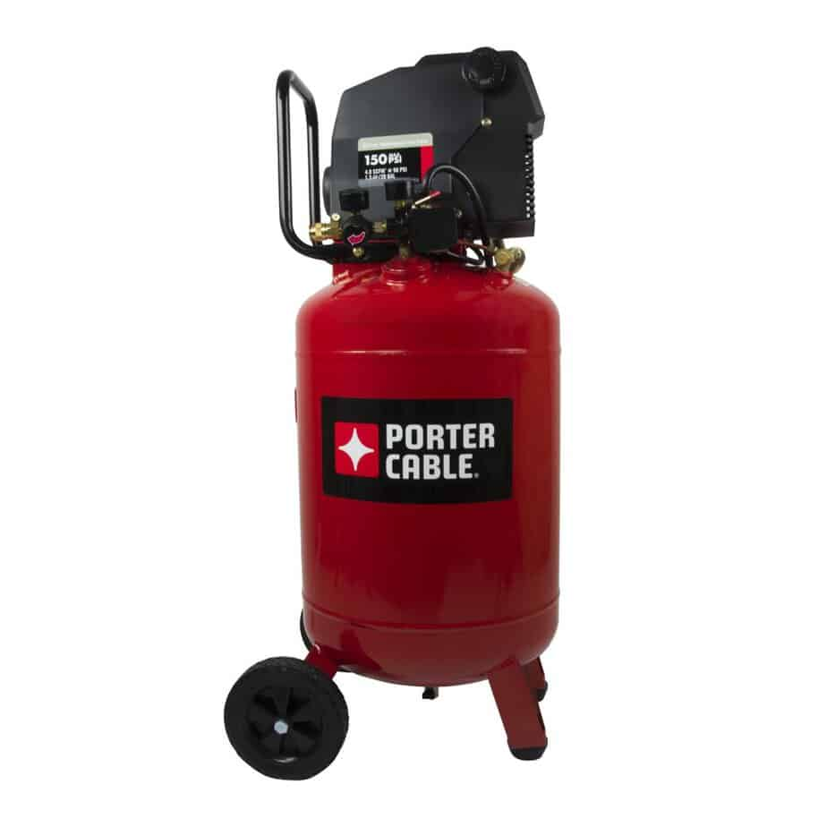 Porter Cable PXCMF220VW 20-Gallon Portable best garage air compressor