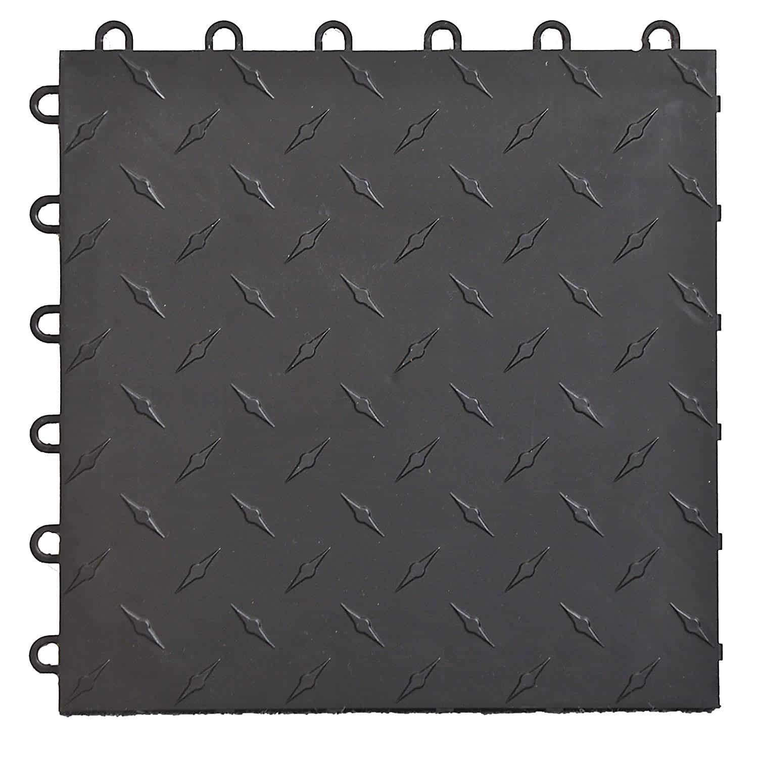 Speedway 789453B-50 Diamond Garage Floor 6 LOCK Diamond Tile